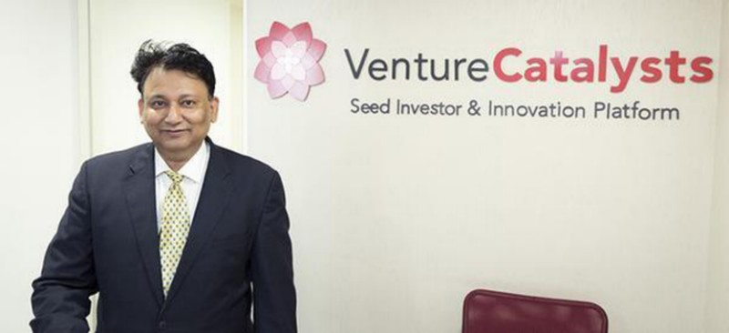 Dr. Apoorv Ranjan Sharma, Co-founder and President of Venture Catalysts