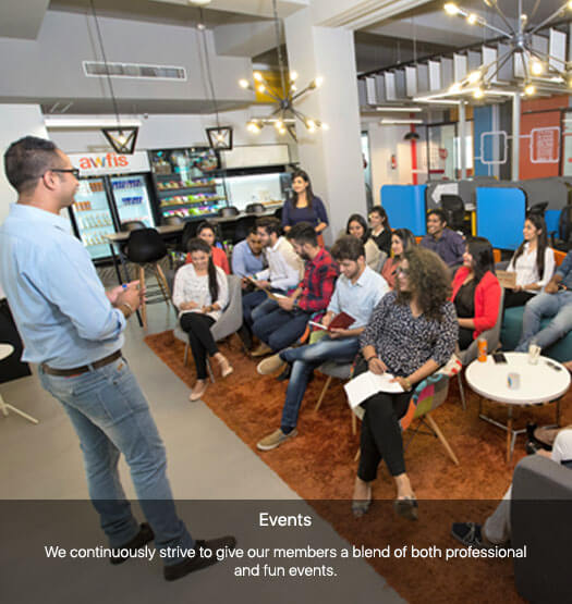 Coworking Startup Awfis, Workspace