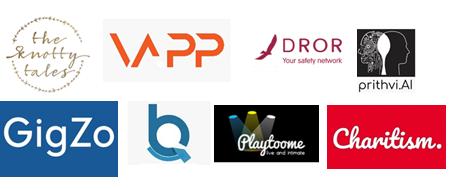 India Accelerator 2019 Spring Cohort batch of selected Indian Startups
