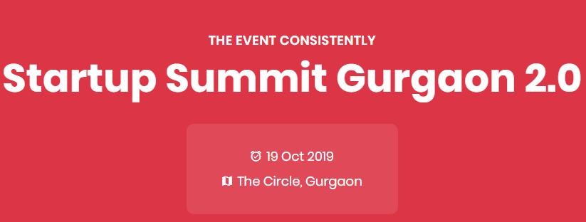 Startup Summit Gurgaon 2.0
