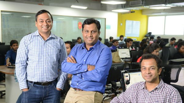 Founder team NoBroker, Akhil Gupta and Amit Agarwal.