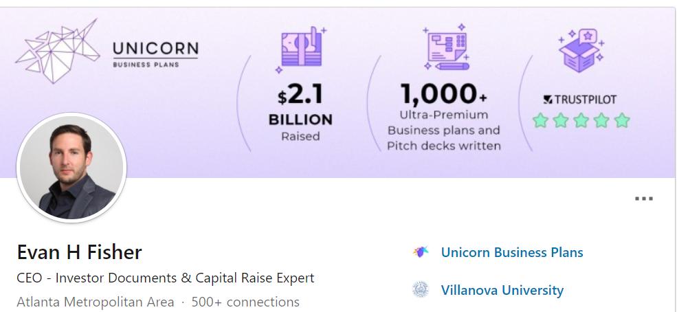 Evanh fisher Linkedin profile