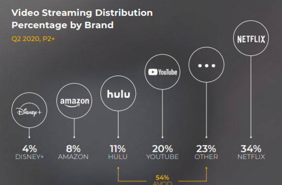 Video Streaming Distribution by Brands